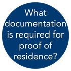 what is required for proof of residence