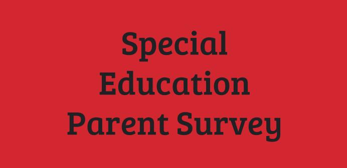 sped parent survey