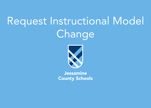 instructional change form