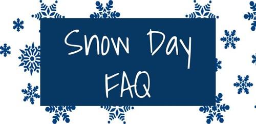 Snow Day FAQ - West Jessamine High School