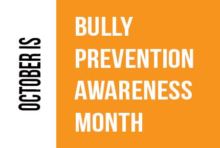Image result for october bullying prevention month