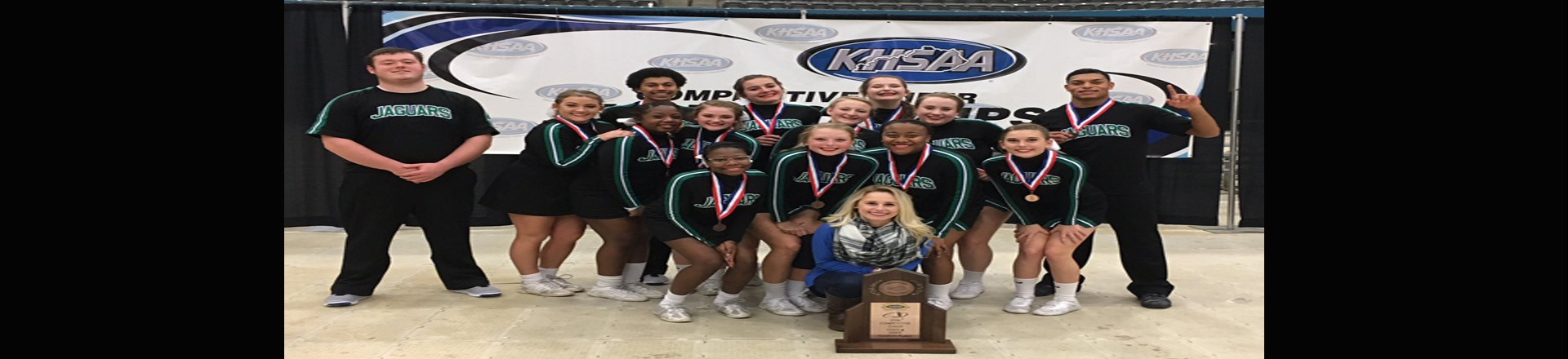 EJHS Cheerleaders 4th in State!  Congrats!