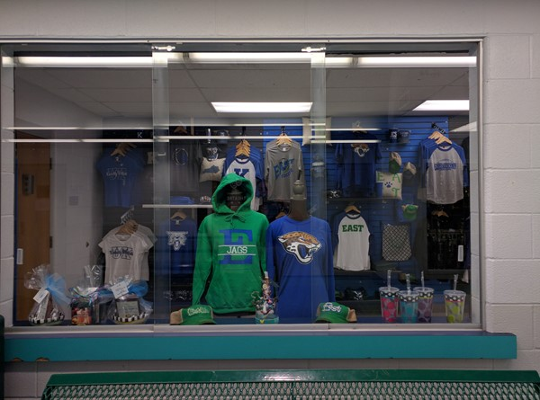 EJHS JESSAMINE PROUD STORE  Opened on Thursday, Sept. 15th.