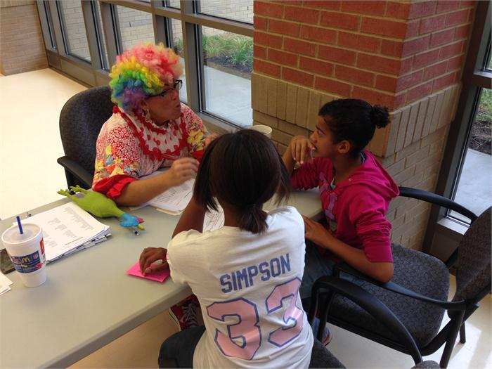 No clowning around when it comes to E-fair buisness proposals!