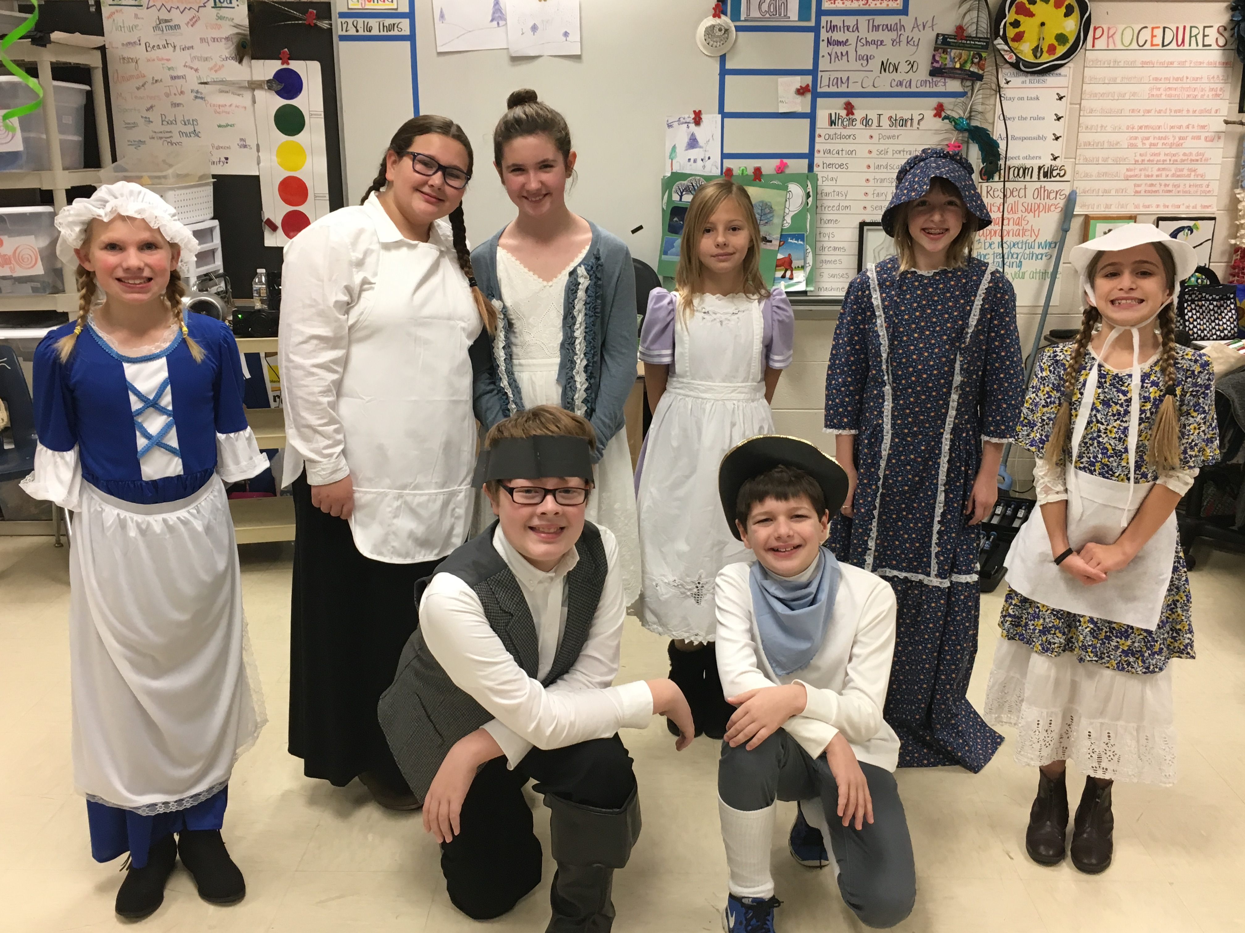 Colonial Christmas Enrichment
